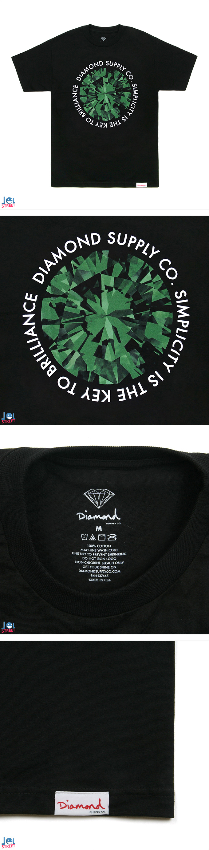 DIAMOND (다이아몬드 반팔티*)
